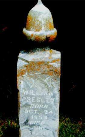 PRESLEY, WILLIAM - Boone County, Arkansas | WILLIAM PRESLEY - Arkansas Gravestone Photos