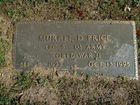 PRICE  (VETERAN WWII), MURREL D - Boone County, Arkansas | MURREL D PRICE  (VETERAN WWII) - Arkansas Gravestone Photos