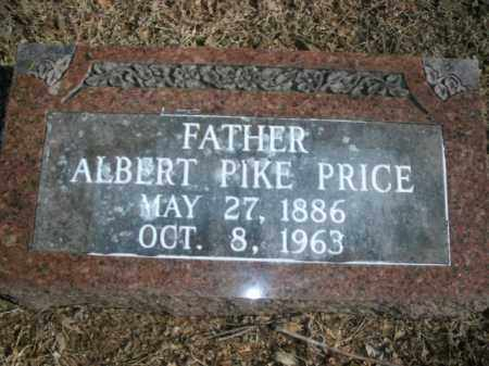 PRICE, ALBERT PIKE - Boone County, Arkansas | ALBERT PIKE PRICE - Arkansas Gravestone Photos