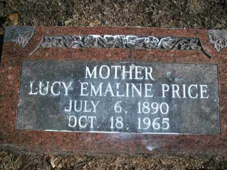 PRICE, LUCY EMALINE - Boone County, Arkansas | LUCY EMALINE PRICE - Arkansas Gravestone Photos
