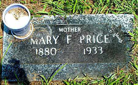PRICE, MARY  F. - Boone County, Arkansas | MARY  F. PRICE - Arkansas Gravestone Photos