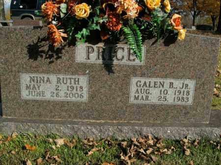 PRICE, NINA RUTH - Boone County, Arkansas | NINA RUTH PRICE - Arkansas Gravestone Photos