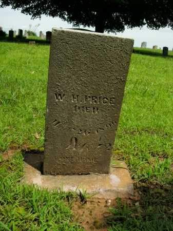 PRICE, W. H. - Boone County, Arkansas | W. H. PRICE - Arkansas Gravestone Photos