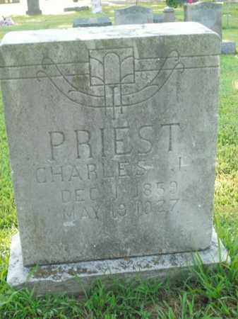 PRIEST, CHARLES J. - Boone County, Arkansas | CHARLES J. PRIEST - Arkansas Gravestone Photos