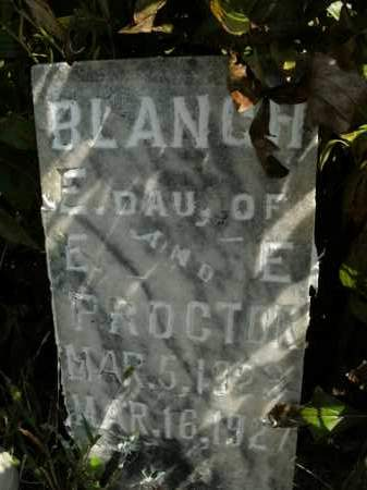 PROCTOR, BLANCH E. - Boone County, Arkansas | BLANCH E. PROCTOR - Arkansas Gravestone Photos