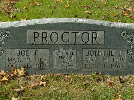PROCTOR, JOE F. - Boone County, Arkansas | JOE F. PROCTOR - Arkansas Gravestone Photos