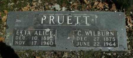 PRUETT, C. WILBURN - Boone County, Arkansas | C. WILBURN PRUETT - Arkansas Gravestone Photos