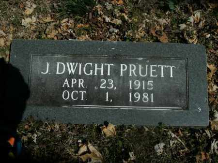 PRUETT, J. DWIGHT - Boone County, Arkansas | J. DWIGHT PRUETT - Arkansas Gravestone Photos