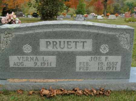 PRUETT, JOE F. - Boone County, Arkansas | JOE F. PRUETT - Arkansas Gravestone Photos