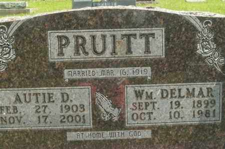 PRUITT, WILLIAM DELMAR - Boone County, Arkansas | WILLIAM DELMAR PRUITT - Arkansas Gravestone Photos