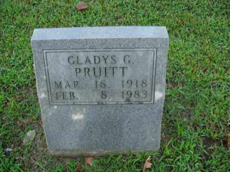 PRUITT, GLADYS G. - Boone County, Arkansas | GLADYS G. PRUITT - Arkansas Gravestone Photos