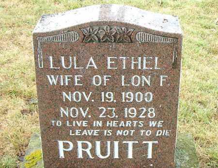 PRUITT, LULA  ETHEL - Boone County, Arkansas | LULA  ETHEL PRUITT - Arkansas Gravestone Photos