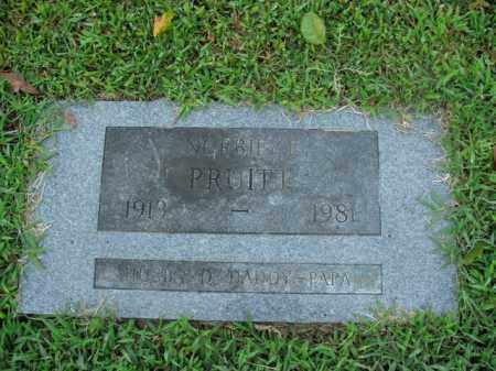 PRUITT, NORBIT E. - Boone County, Arkansas | NORBIT E. PRUITT - Arkansas Gravestone Photos