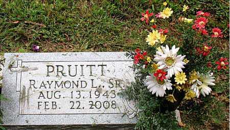 PRUITT, SR, RAYMOND L. - Boone County, Arkansas | RAYMOND L. PRUITT, SR - Arkansas Gravestone Photos