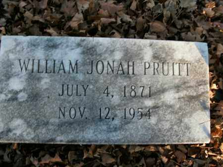 PRUITT, WILLIAM JONAH - Boone County, Arkansas | WILLIAM JONAH PRUITT - Arkansas Gravestone Photos