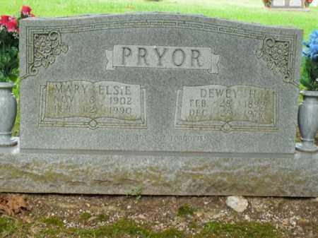 PRYOR, MARY ELSIE - Boone County, Arkansas | MARY ELSIE PRYOR - Arkansas Gravestone Photos