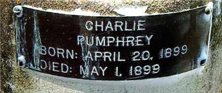 PUMPHREY, CHARLIE - Boone County, Arkansas | CHARLIE PUMPHREY - Arkansas Gravestone Photos