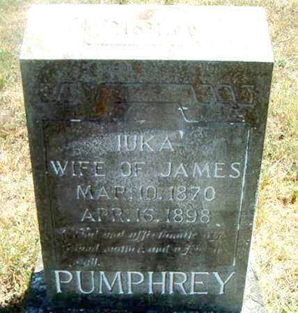 MITCHELL PUMPHREY, IUKA - Boone County, Arkansas | IUKA MITCHELL PUMPHREY - Arkansas Gravestone Photos