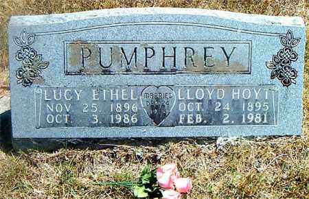 PUMPHREY, LLOYD HOYT - Boone County, Arkansas | LLOYD HOYT PUMPHREY - Arkansas Gravestone Photos