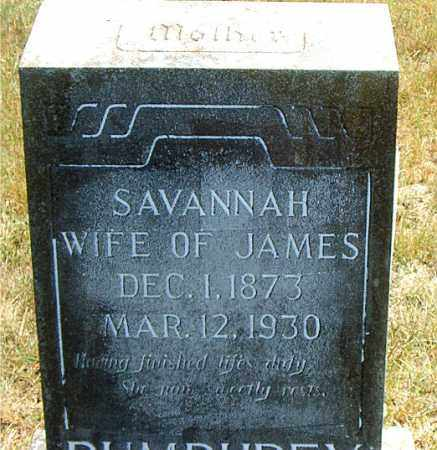 WILLIAMS PUMPREY, SAVANNAH - Boone County, Arkansas | SAVANNAH WILLIAMS PUMPREY - Arkansas Gravestone Photos