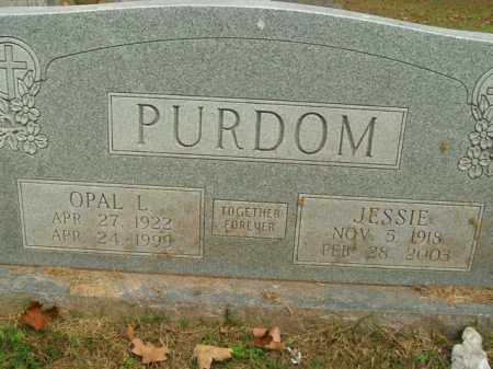 PURDOM, JESSIE - Boone County, Arkansas | JESSIE PURDOM - Arkansas Gravestone Photos