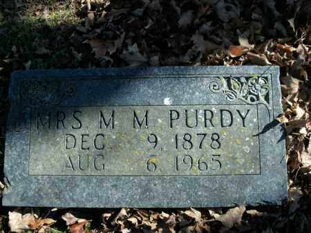 PURDY, M.M. - Boone County, Arkansas | M.M. PURDY - Arkansas Gravestone Photos