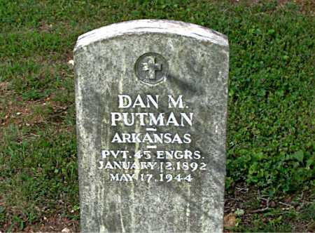 PUTMAN  (VETERAN), DAN M - Boone County, Arkansas | DAN M PUTMAN  (VETERAN) - Arkansas Gravestone Photos