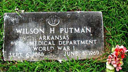 PUTMAN  (VETERAN WWI), WILSON H - Boone County, Arkansas | WILSON H PUTMAN  (VETERAN WWI) - Arkansas Gravestone Photos