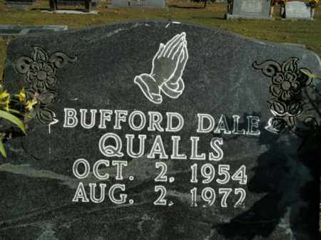 QUALLS, BUFFORD DALE - Boone County, Arkansas | BUFFORD DALE QUALLS - Arkansas Gravestone Photos