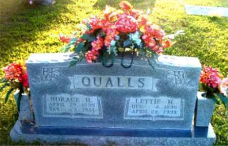 QUALLS, LETTIE  MAY - Boone County, Arkansas | LETTIE  MAY QUALLS - Arkansas Gravestone Photos