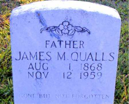 QUALLS, JAMES M. - Boone County, Arkansas | JAMES M. QUALLS - Arkansas Gravestone Photos