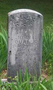 QUALLS, JOHN  B. - Boone County, Arkansas | JOHN  B. QUALLS - Arkansas Gravestone Photos