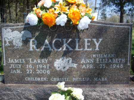 "RACKLEY, JAMES ""LARRY"" - Boone County, Arkansas 