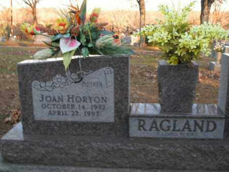 RAGLAND, JOAN - Boone County, Arkansas | JOAN RAGLAND - Arkansas Gravestone Photos