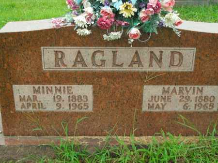 RAGLAND, MINNIE - Boone County, Arkansas | MINNIE RAGLAND - Arkansas Gravestone Photos
