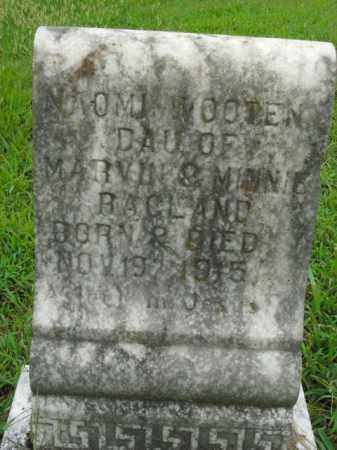 RAGLAND, NAOMI WOOTEN - Boone County, Arkansas | NAOMI WOOTEN RAGLAND - Arkansas Gravestone Photos
