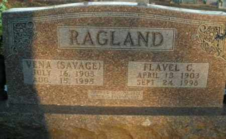 RAGLAND, VENA - Boone County, Arkansas | VENA RAGLAND - Arkansas Gravestone Photos