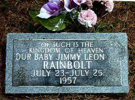 RAINBOLT, JIMMY LEON - Boone County, Arkansas | JIMMY LEON RAINBOLT - Arkansas Gravestone Photos