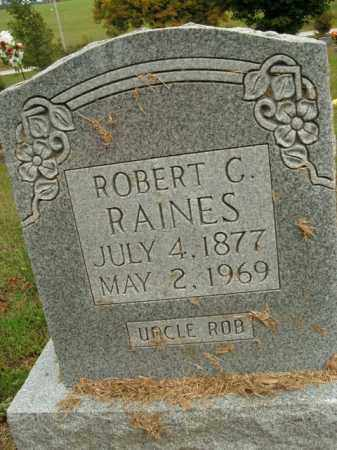 RAINES, ROBERT C. - Boone County, Arkansas | ROBERT C. RAINES - Arkansas Gravestone Photos