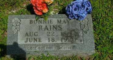 RAINS, BONNIE MAY - Boone County, Arkansas | BONNIE MAY RAINS - Arkansas Gravestone Photos