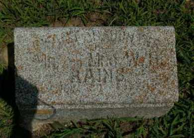 RAINS, INFANT DAUGHTER - Boone County, Arkansas | INFANT DAUGHTER RAINS - Arkansas Gravestone Photos