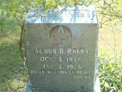 RALEY, ALMUS  B. - Boone County, Arkansas | ALMUS  B. RALEY - Arkansas Gravestone Photos