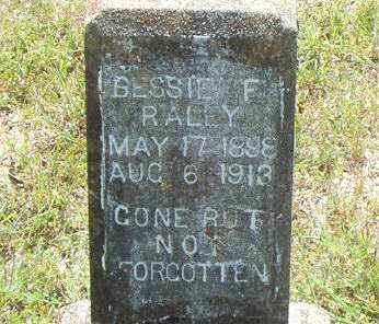 RALEY, BESSIE  F. - Boone County, Arkansas | BESSIE  F. RALEY - Arkansas Gravestone Photos