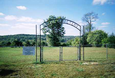 *RALEY CEMETERY GATE,  - Boone County, Arkansas |  *RALEY CEMETERY GATE - Arkansas Gravestone Photos