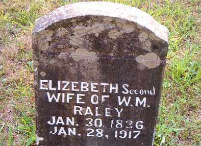 RALEY, ELIZABETH - Boone County, Arkansas | ELIZABETH RALEY - Arkansas Gravestone Photos