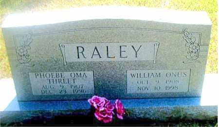 RALEY, WILLIAM ONUS - Boone County, Arkansas | WILLIAM ONUS RALEY - Arkansas Gravestone Photos