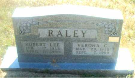 RALEY, VERONA  C. - Boone County, Arkansas | VERONA  C. RALEY - Arkansas Gravestone Photos