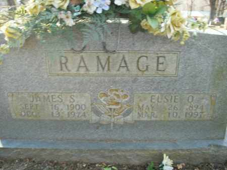 RAMAGE, JAMES S. - Boone County, Arkansas | JAMES S. RAMAGE - Arkansas Gravestone Photos