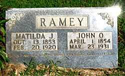 RAMEY, JOHN O - Boone County, Arkansas | JOHN O RAMEY - Arkansas Gravestone Photos