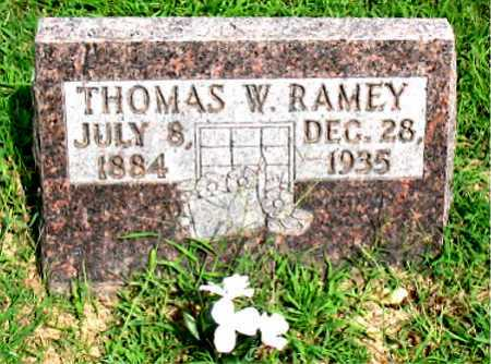 RAMEY, THOMAS W - Boone County, Arkansas | THOMAS W RAMEY - Arkansas Gravestone Photos